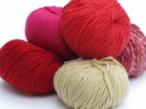 reds cashmere yarn