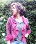 swirly sweater