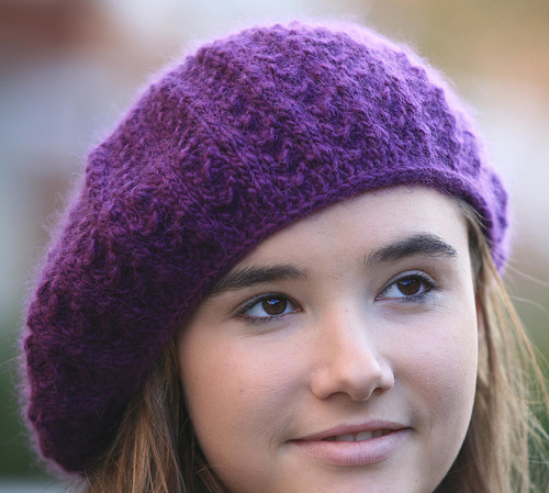 Beret Yarn Astriala Knit Beret Hat Patterns LONG HAIRSTYLES