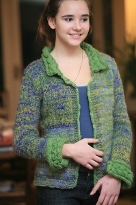 Debonnaire Cable Trim Cardigan