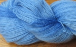 semi-solid blue ultra fine merino