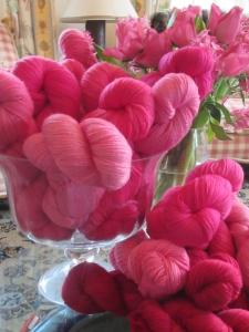 Pink Rose Yarn