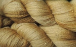 burnished gold stellina yarn