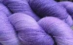 blue violet stellina yarn
