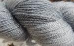 silver stellina yarn