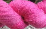 hot pink  stellina yarn