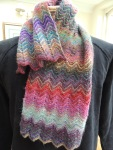 Zig Zag cowl missing button