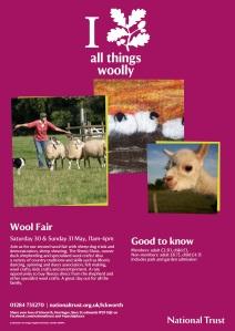 Wool fair poster 2015