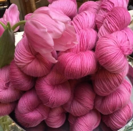 rose yarn