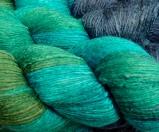 Blue Lagoon Lustre Silk